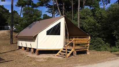 Tarifs camping vend e prix camping noirmoutier domaine la bosse - Camping noirmoutier tipi ...
